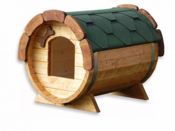 Barrel Dog house