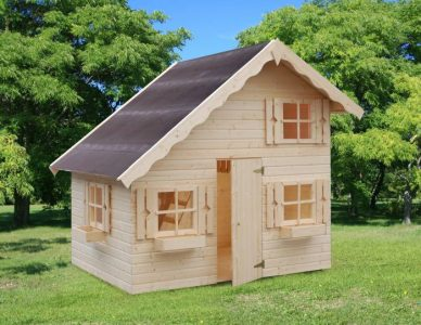 Kids Playhouse Log Cabins